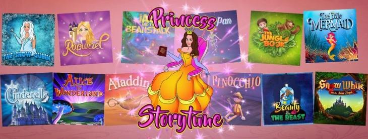 Princess Storytime - Storytelling
