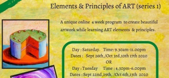 Elements and Principles of Art (series 1) @ KidzArt
