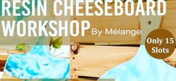 Resin Cheeseboard Workshop
