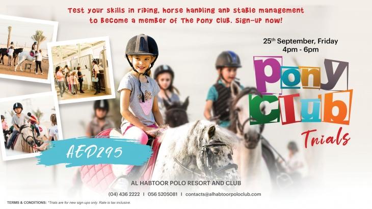 Pony Club Trials