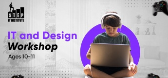 IT and Design Workshops for children aged 10-11