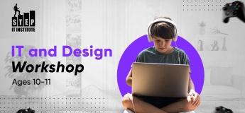 IT and Design Workshops for children aged 10-11