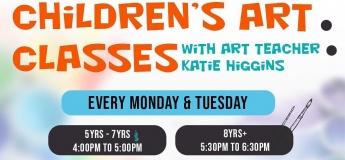 Children's Art Classes @ StepUp Ceramic Cafe