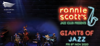 Ronnie Scott's Jazz Club @ Dubai Opera