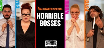 Halloween Special: Horrible Bosses @ The Courtyard Playhouse
