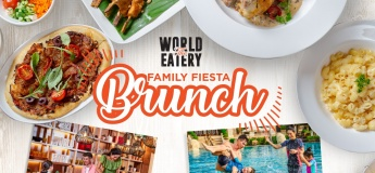 Family Fiesta Brunch @ The World Eatery
