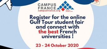 Online Gulf Tour Student Fair for Best French Universities