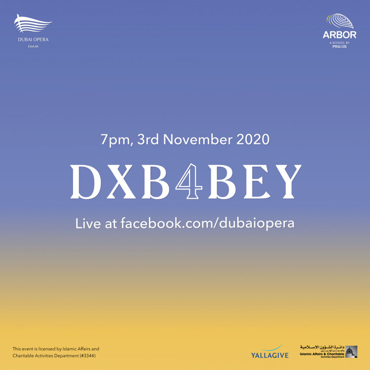One-day Live-streamed Music Festival from Dubai Opera