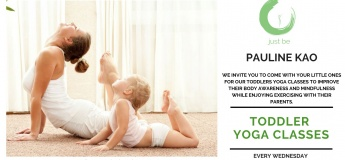 Toddler Yoga Class @ Just Be Wellbeing Center