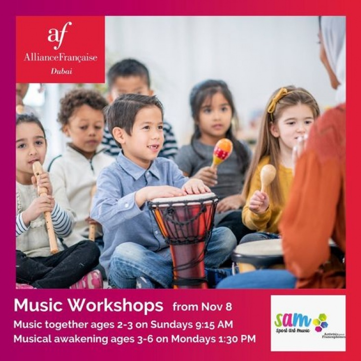 Music Workshops @ Alliance Francaise Dubai