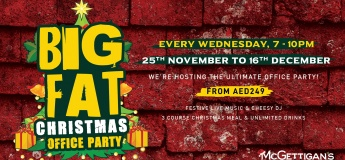 Big Fat Christmas Office Party @ McGettigan's JLT & The Baggot