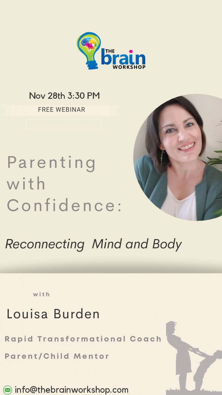 Parenting with Confidence Webinar: Reconnecting Mind & Body (Free)