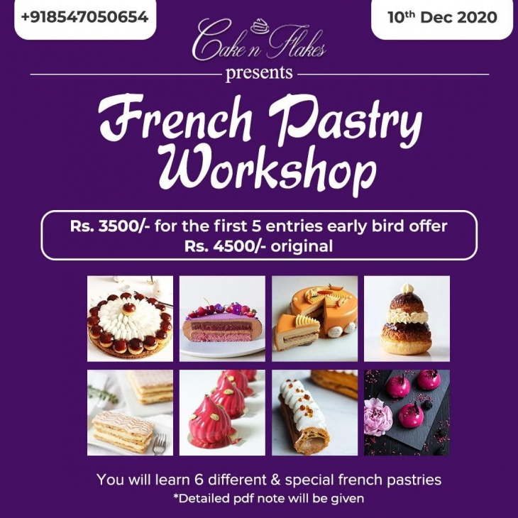 Online French Pastry Workshop