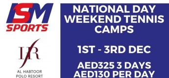 National Day Weekend Tennis Camp @ ISM Sports
