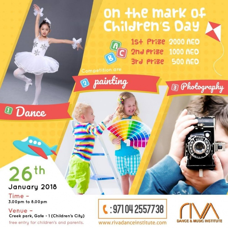 Dance, Painting & Photography Competition | Tickikids Dubai