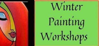 Winter Paining Workshops @ KidzArt