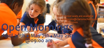 Clarion School Open Morning