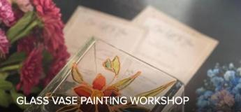 Glass Vase painting Workshop @ Alserkal Avenue