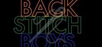 Backstitch Boys Embroidery Workshop @ Glitches & Stitches