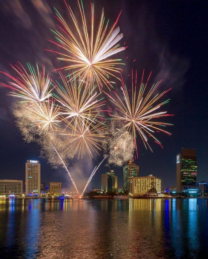 Spectacular Fireworks Show @ Al Seef