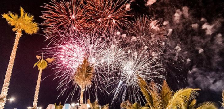 Firework Shows @ La Mer