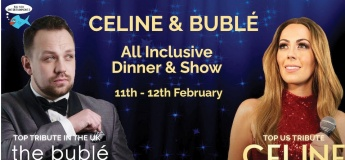 Showtime with Celine Dion & Michael Buble @ Emirates Golf Club