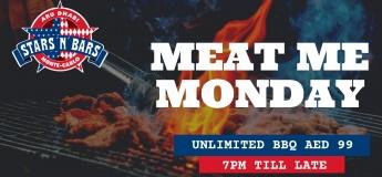 Meat Me Monday - BBQ Night @ Stars 'n' Bars Abu Dhabi