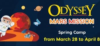 "Spring Camp ""Mission to Mars"" @ Odyssey Nursery Dubai"