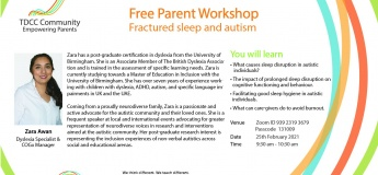 "Free Parent Workshop ""Fractured Sleep & Autism"""