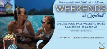 Weekends at Splash