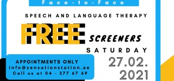 Free Speech and Language Screener Day