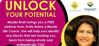 Free Webinar - Unlock your Potential by Master Brain