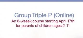 Online Group Triple P Course for Parents