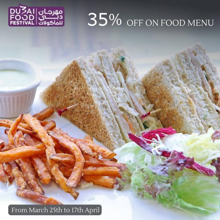 35% Off on Food Menu @ Qiso Cafe