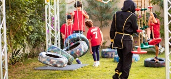 Kids Obstacle course for Birthday Parties