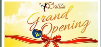 Grand Opening of Just Dance