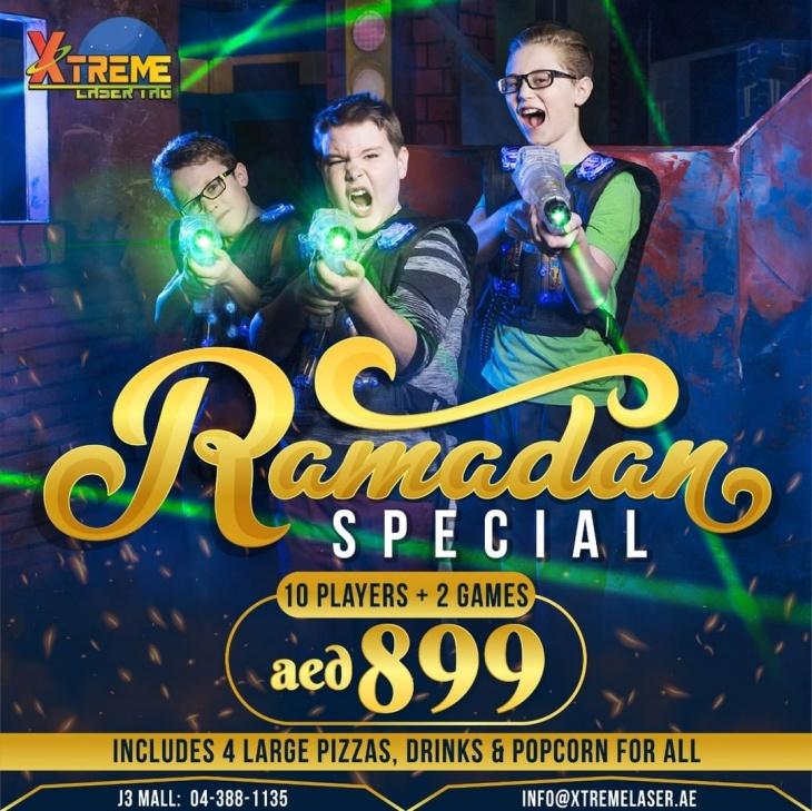 Ramadasn Offer @ Xtreme Laser Tag