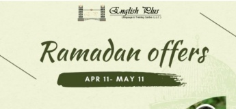 Ramadan Offers @ English Plus Language & Training Centre