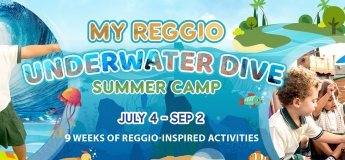 My Reggio Underwater Dive Summer Camp