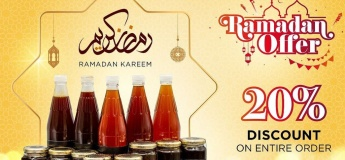 20% Off on All Products @ Hatta Honey