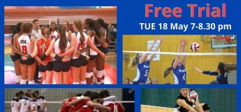 Free Trial Volleyball Classes for Teenagers@ JBS