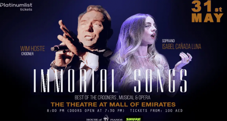 Immortal Songs @ The Theatre, The Mall of the Emirates