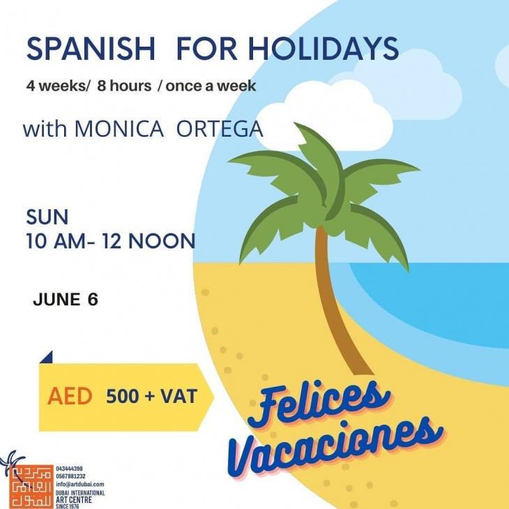 Workshop Spanish for Holidays