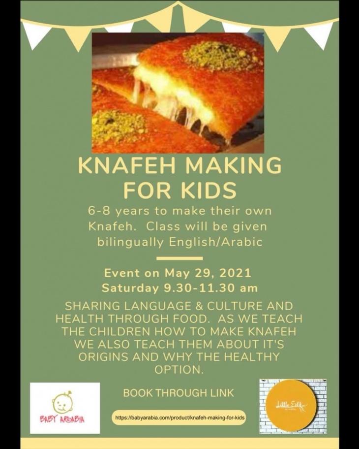 Knafeh Making for Kids