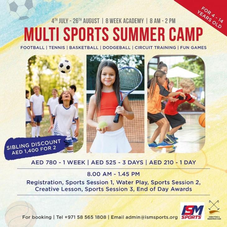 Multi Sports Summer Camp @ Dubai Polo & Equestrian Club