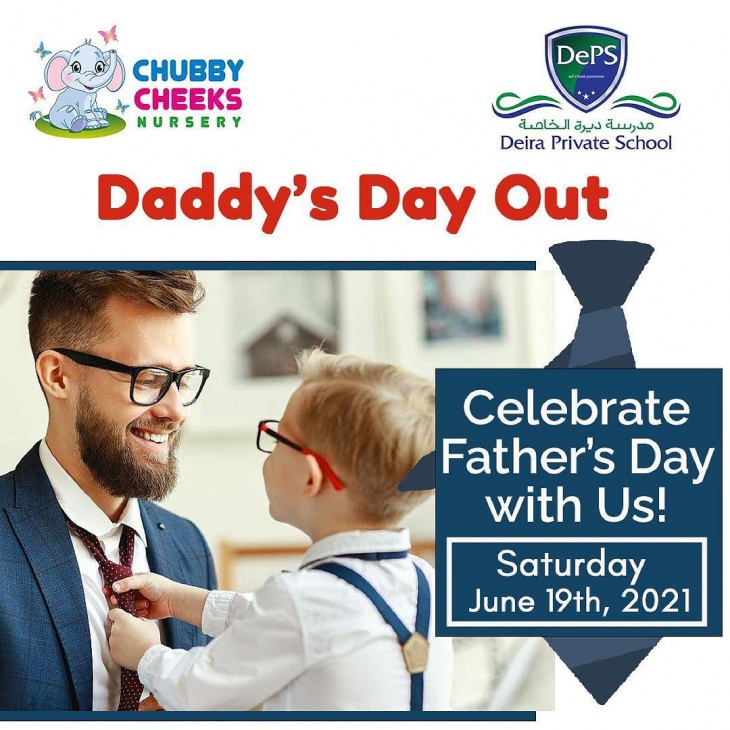 Daddy's Day Out @ Chubby Cheecks Nursery
