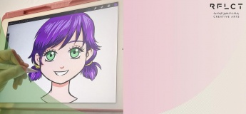 Anime Drawing On IPAD