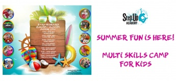 Summer Fun is Here! Multi-Skill Camp for Kids