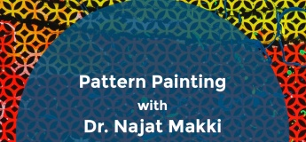 Pattern Painting Workshop @ Aisha Alabbar Art Gallery