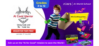 AI COVID Warrior Contest for Teachers and Students